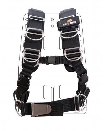 Dive Rite TransPlate Harness